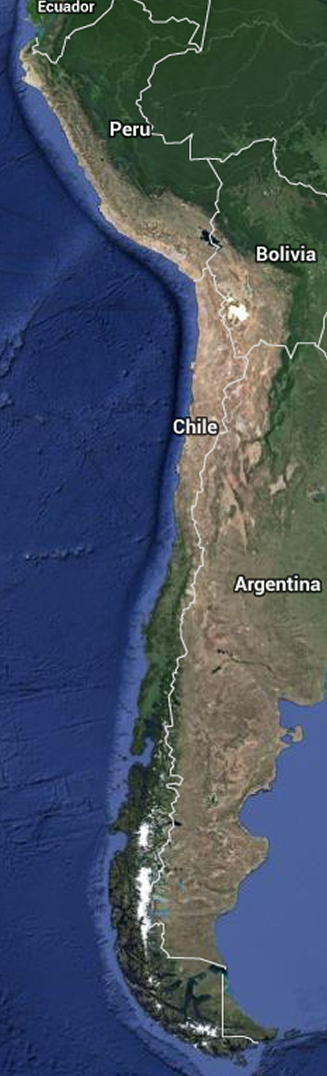 The Andes region